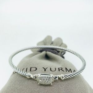 David Yurman Petite Wheaton with Diamonds